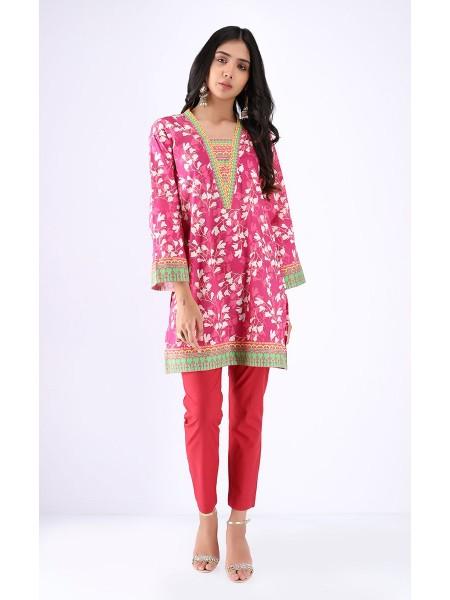 Zellbury Fabric By Meter Carissma Pink - 1 piece - Cambric shirt ZWROT19102