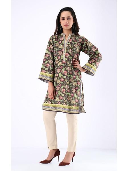 Zellbury Fabric By Meter Crater Brown - 1 Piece - Khaddar shirt ZWROT19123