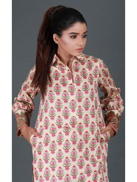 Zellbury Fabric By Meter Oyster Pink - 1 piece - Cotton Satin shirt ZWROT19027