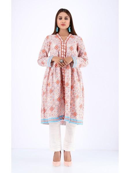 Zellbury Fabric By Meter Vanilla Pink - 1 Piece - Khaddar shirt ZWROT19125