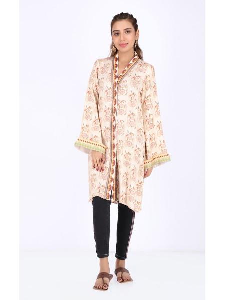 Zellbury Fabric By Meter Wax Brown - 1 Piece - Viscose shirt ZWROT19211
