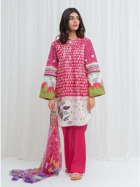 BeechTree Spring Summer20 Unstitched Collection Sweet Freesia - 3 Piece BT1S20U44-MIX-2000000136420-3P