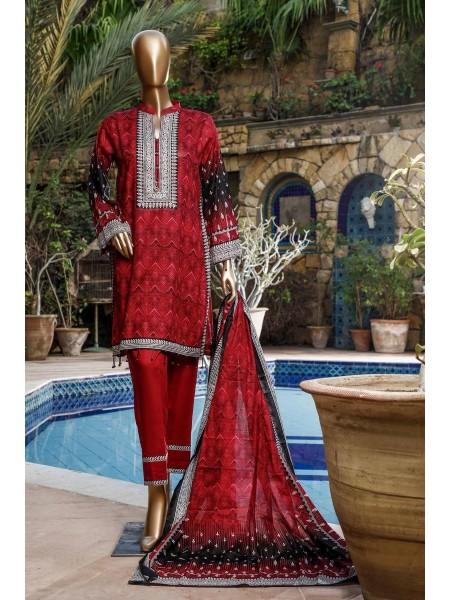 BIN SAEED Fariha & Farah Naz Unstitched Lawn Design-10