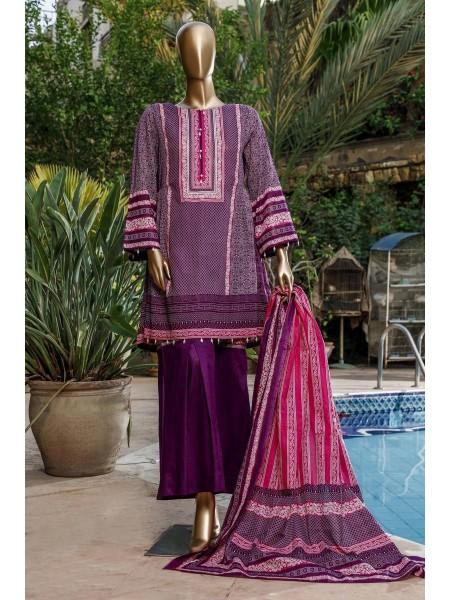 BIN SAEED Fariha & Farah Naz Unstitched Lawn Design-11