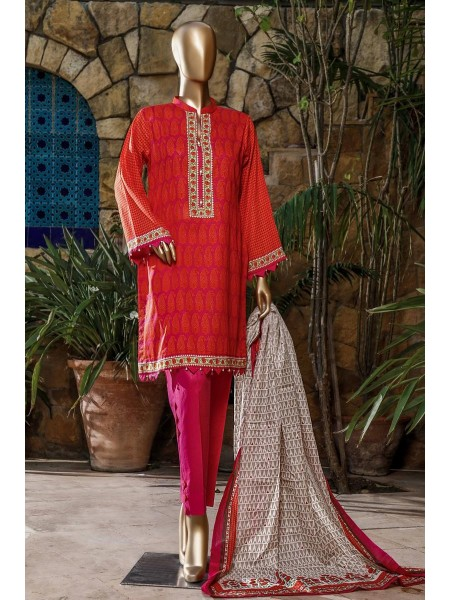 BIN SAEED Fariha & Farah Naz Unstitched Lawn Design-13
