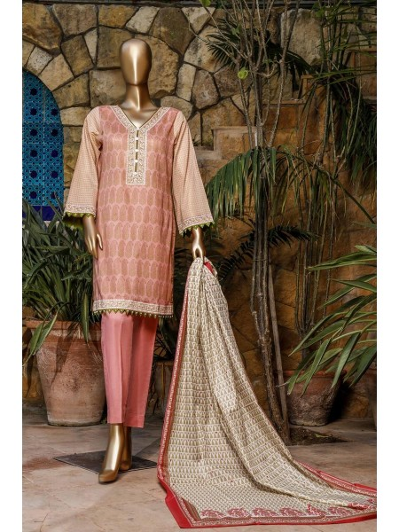 BIN SAEED Fariha & Farah Naz Unstitched Lawn Design-16