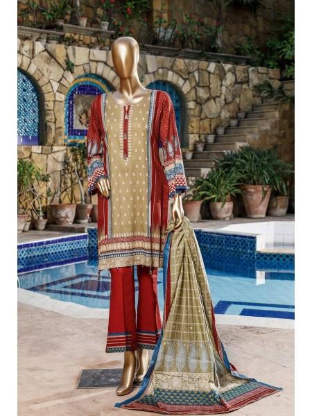 BIN SAEED Fariha & Farah Naz Unstitched Lawn Design-18