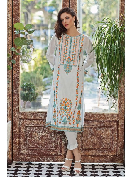Gul Ahmed Summer Lawn20 1PC Unstitched Embroidered Lawn Shirt SL-794