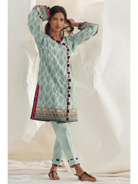 Gul Ahmed Summer Lawn20 1PC Unstitched Lawn Shirt SL-835