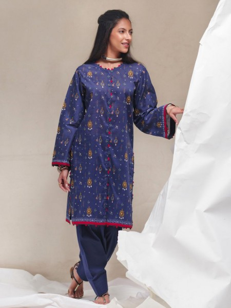 Gul Ahmed Summer Lawn20 1PC Unstitched Lawn Shirt SL-839