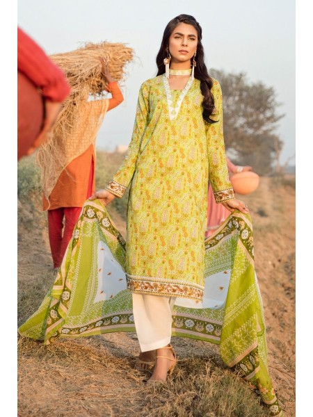 Gul Ahmed Summer Lawn20 2PC Unstitched Embroidered Lawn Suit TL-247 A