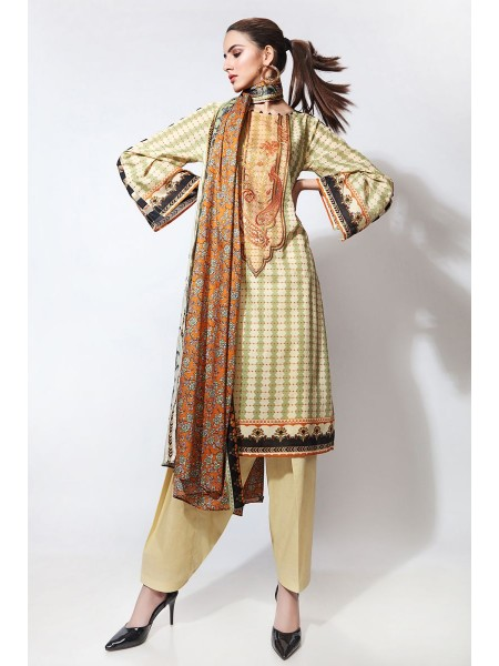 Gul Ahmed Summer Lawn20 2PC Unstitched Embroidered Lawn Suit TL-251 B