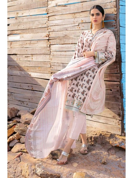 Gul Ahmed Summer Lawn20 2PC Unstitched Embroidered Lawn Suit TL-252 A