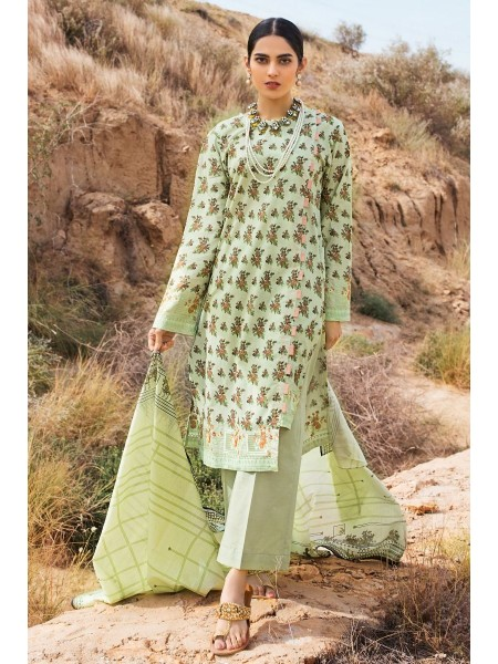 Gul Ahmed Summer Lawn20 2PC Unstitched Embroidered Lawn Suit TL-252 B