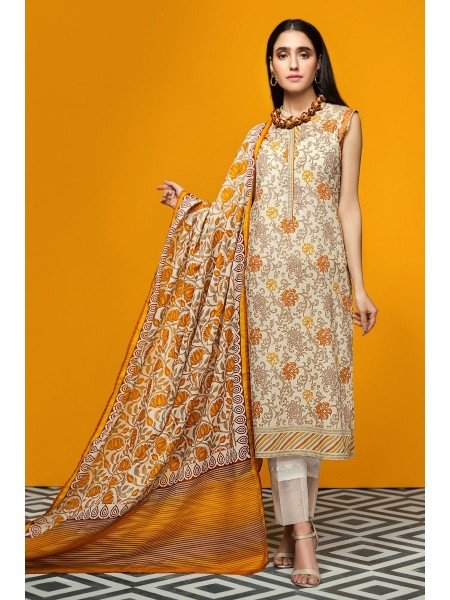 Gul Ahmed Summer Lawn20 2PC Unstitched Lawn Suit TL-262 A