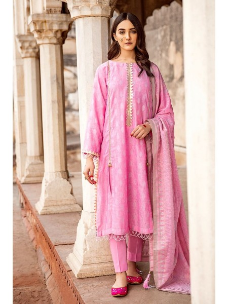 Gul Ahmed Summer Lawn20 3 PC Unstitched Jacquard Suit MJ-37 A