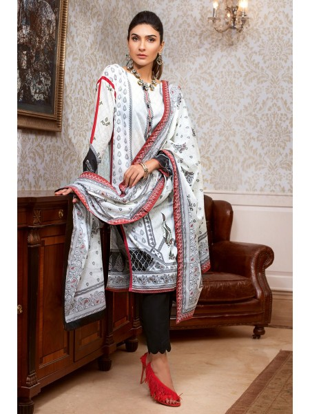 Gul Ahmed Summer Lawn20 3 PC Unstitched Lawn Suit B-71