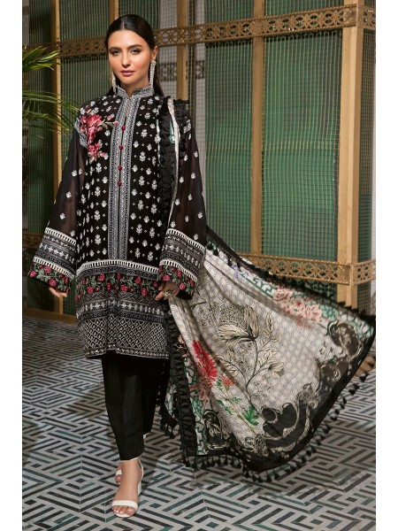 Gul Ahmed Summer Lawn20 3 PC Unstitched Swiss Voile Suit LSV-32