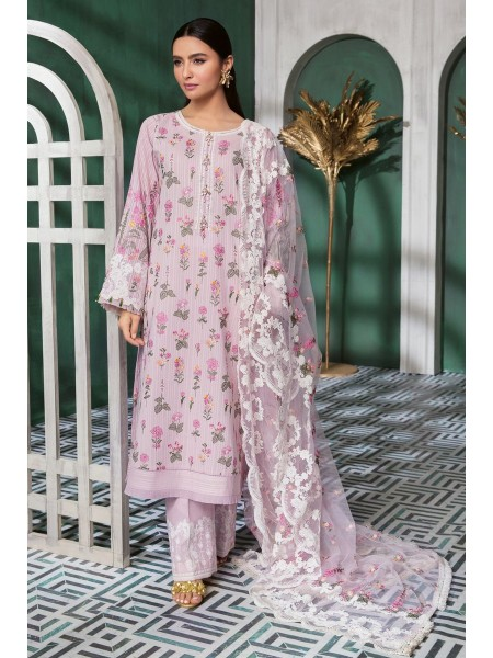 Gul Ahmed Summer Lawn20 3 PC Unstitched Swiss Voile Suit LSV-36