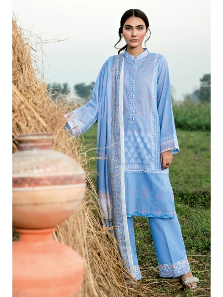 Gul Ahmed Summer Lawn20 3PC Unstitched Embroidered Lawn Suit CL-734 A
