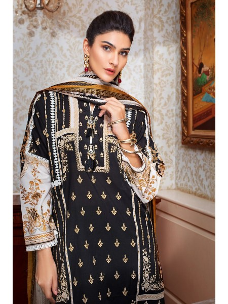 Gul Ahmed Summer Lawn20 3PC Unstitched Lawn Suit B-65