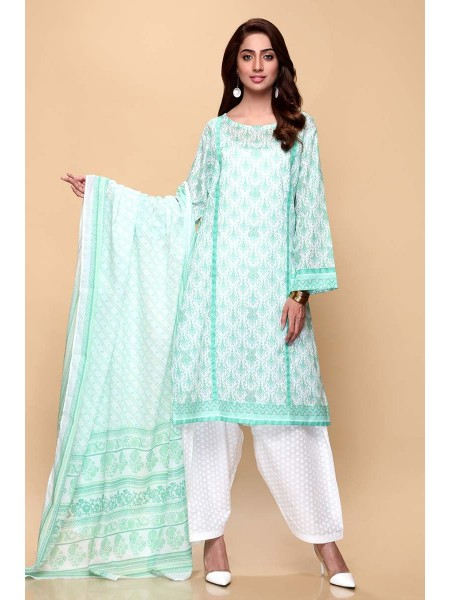Gul Ahmed Summer Lawn20 3PC Unstitched Lawn Suit CL-653 B