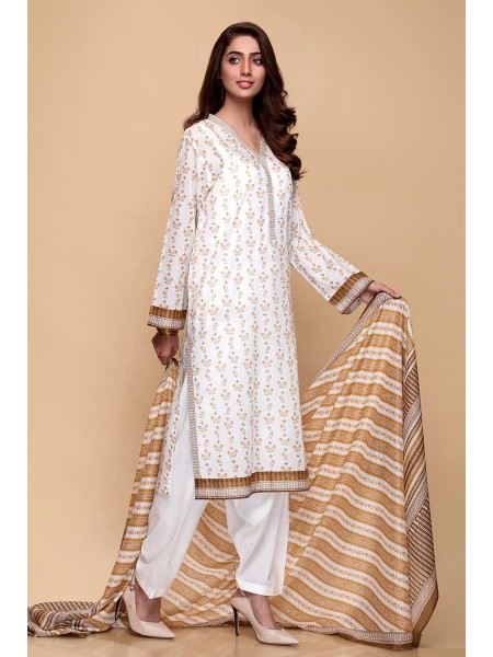 Gul Ahmed Summer Lawn20 3PC Unstitched Lawn Suit CL-670 A