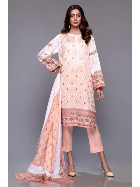 Gul Ahmed Summer Lawn20 3PC Unstitched Lawn Suit CL-701 B