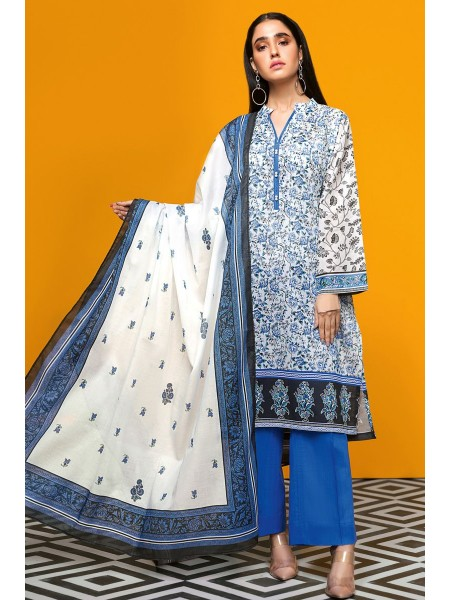 Gul Ahmed Summer Lawn20 3PC Unstitched Lawn Suit CL-703 A