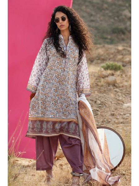 Gul Ahmed Summer Lawn20 3PC Unstitched Lawn Suit CL-703 B