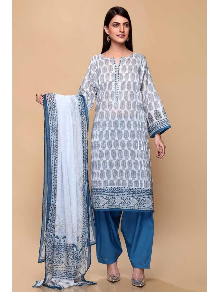 Gul Ahmed Summer Lawn20 3PC Unstitched Lawn Suit CL-707 A
