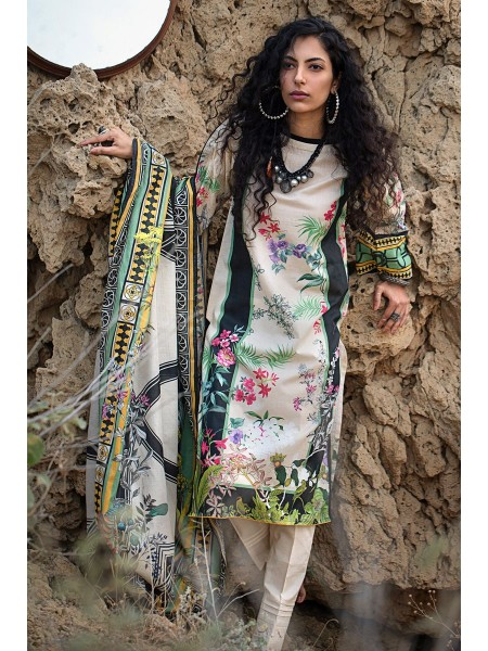 Gul Ahmed Summer Lawn20 3PC Unstitched Lawn Suit CL-714