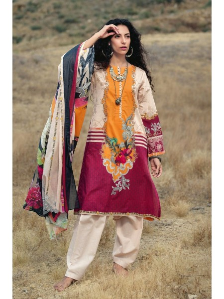 Gul Ahmed Summer Lawn20 3PC Unstitched Lawn Suit CL-770