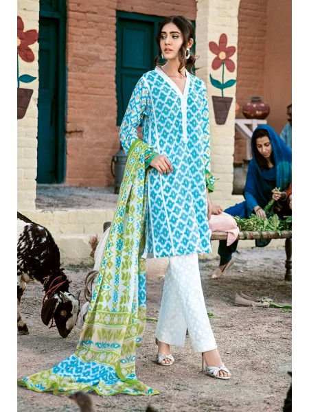 Gul Ahmed Summer Lawn20 3PC Unstitched Lawn Suit CL-775 A