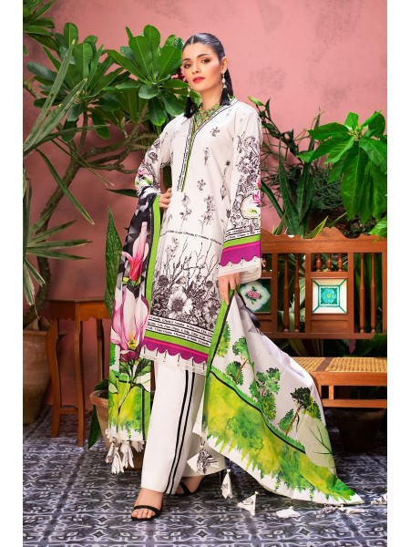 Gul Ahmed Summer Lawn20 3PC Unstitched Lawn Suit CL-809