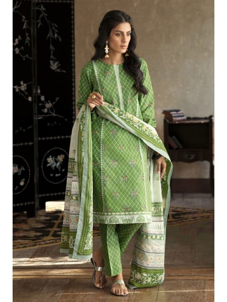 Gul Ahmed Summer Lawn20 3PC Unstitched Lawn Suit CL-816 A