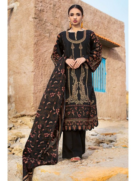 Gul Ahmed Summer Lawn20 3PC Unstitched Lawn Suit CL-882