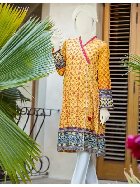 Junaid Jamshed Spring Summer Kurti Collection JJLK-S-JSS-20-323 Chanderi
