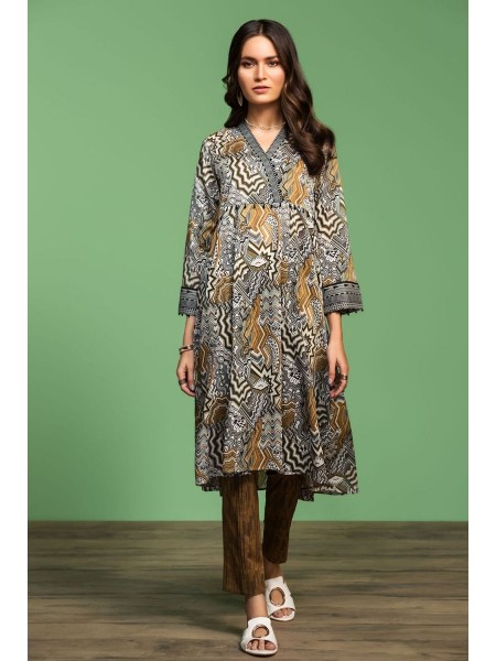 Nishat Linen Spring Summer 20 42001008- Printed Lawn Cambric 2PC