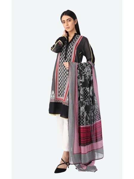 Zellbury Unstitched Spring Collection Shirt Dupatta | Lawn ZWUSL219614