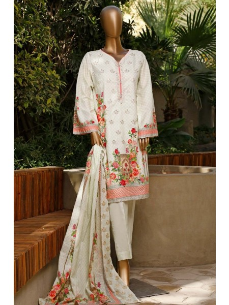 Bin Saeed Lawn Embroidered Stiched Collection 2020 DG 304