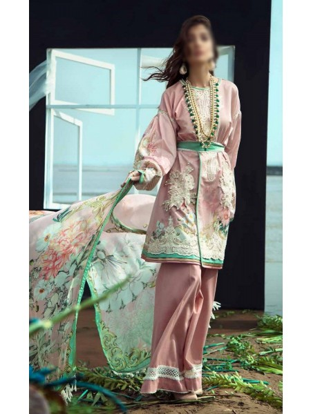 Firdous Grandeur Luxury Un-Stiched Lawn 2020 D-LL - 19529