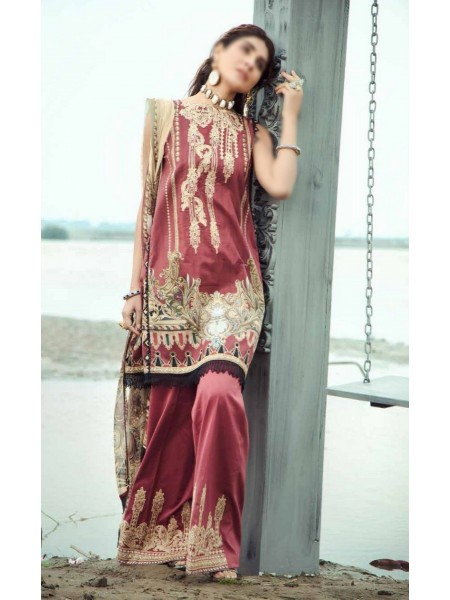 Firdous Grandeur Luxury Un-Stiched Lawn 2020 D-LL - 19540