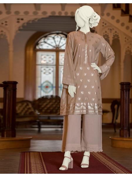 Junaid Jamshed Pret Wear JJLK-S-JSS-20-367 Beige Foil