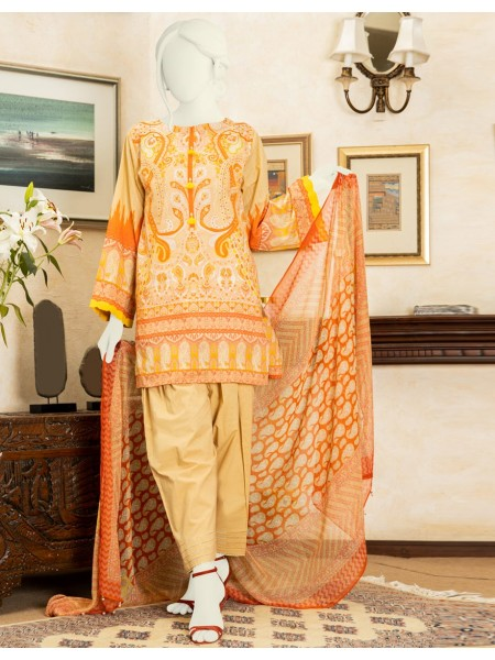Junaid Jamshed Summer Collection Vol2 JLAWN-S-20-144-A Zaire