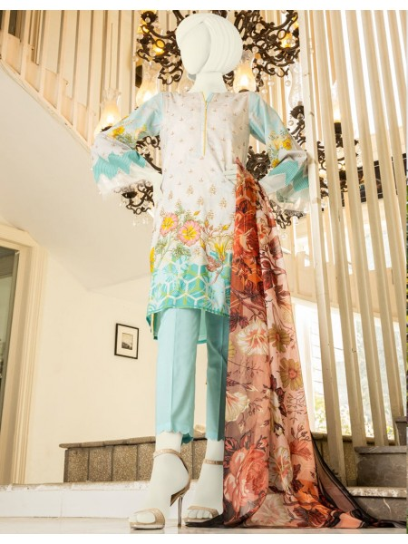 Junaid Jamshed Summer Collection Vol2 JLAWN-S-20-145-B Bliss