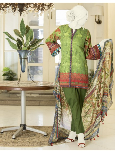 Junaid Jamshed Summer Collection Vol2 JLAWN-S-JDS-20-1033-B Turkish Garden