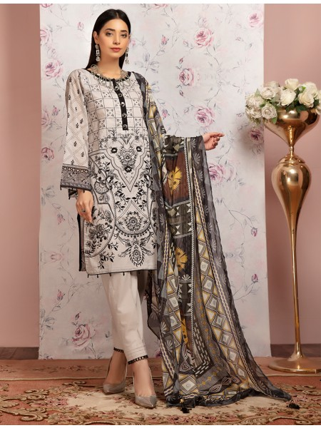Khas Stores Spring Vibes Collection Delice Gris KSE - 8026