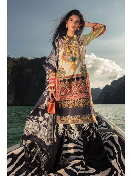 Sana Safinaz Luxury Lawn L201-002A-Ck