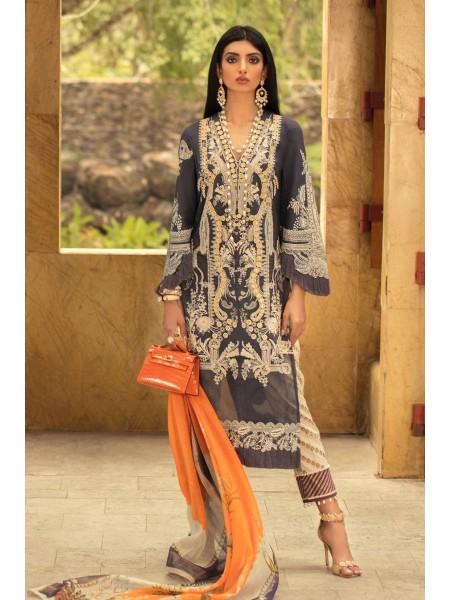 Sana Safinaz Luxury Lawn L201-016B-Ar